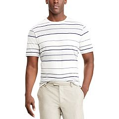 Men's Chaps Classic-Fit Striped Crewneck Tee