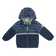 Toddler Boy OshKosh B'gosh® Fleece-Lined Striped Top Transitional Lightweight Jacket