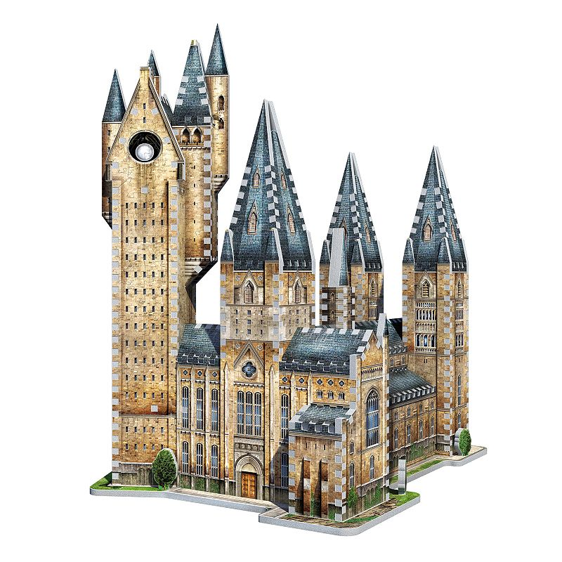 Wrebbit Harry Potter Hogwarts Astronomy Tower 875-pc. 3D Puzzle The whole family will love putting together this Wrebbit Harry Potter Hogwarts Astronomy Tower 875-pc. 3D Puzzle Stunning replica of part of Harry Potter's School of Witchcraft and Wizardry Original Wrebbit foam backed puzzle pieces providing snug tight fitting Creates a robust and durable model 875 pieces 19.25''H x 15.5''W x 12.75''D Age: 14 years & up Non-toxic polyethylene foam with illustrated laminated paper Imported Model no. 189311 Size: One Size. Color: Multicolor. Gender: unisex. Age Group: kids.