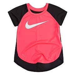 Toddler Girl Nike Colorblock Graphic Tunic