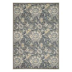 Nourison Graphic Illusions Petals Floral Rug