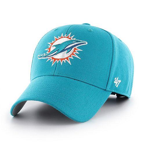 Adult '47 Brand Miami Dolphins MVP Adjustable Cap