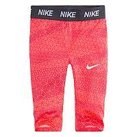 Toddler Girl Nike Dri-FIT Geometric Capris