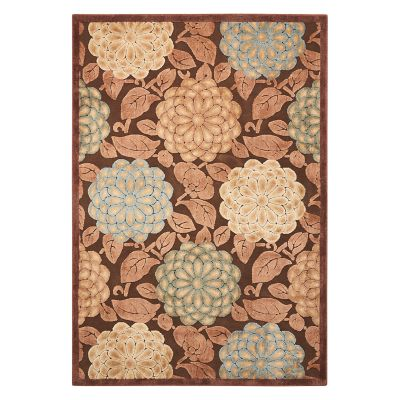 Nourison Graphic Illusions Botanical Floral Rug
