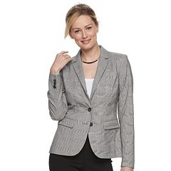 Women's Apt. 9® Plaid Twill Blazer