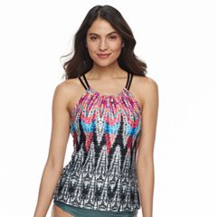 Women's Apt. 9® High Neck Racerback Tankini Top