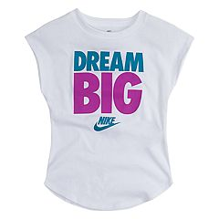 Toddler Girl Nike 'Dream Big' Graphic Tee