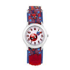 Marvel Spider-Man Emoji Kids' Time Teacher Watch