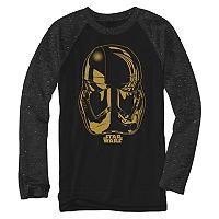 Boys 8-20 Star Wars Storm Trooper Raglan Tee