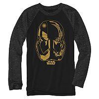 Boys 8-20 Star Wars Storm Trooper Raglan Tee