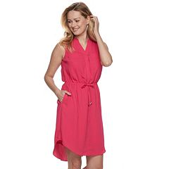 Women's Apt. 9® Drawstring Shirtdress