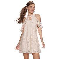 Juniors' Candie's® Halter Swing Dress