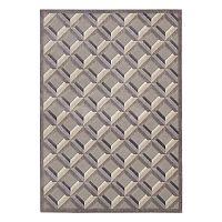 Nourison Graphic Illusions Diamond Lattice Rug