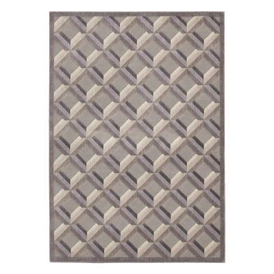 Nourison Graphic Illusions Diamond Lattice Rug