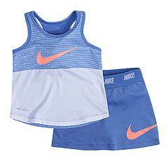 Toddler Girl Nike Colorblock Tank Top & Skort Set
