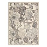 Nourison Graphic Illusions Luxe Floral Rug