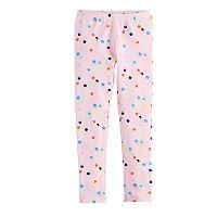 Girls 4-10 Jumping Beans® Printed Leggings