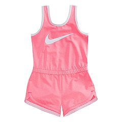 Toddler Girl Nike Striped Romper