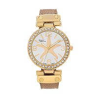 Journee Collection Women's Crystal Starfish Watch