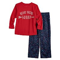 Toddler Boy Jammies For Your Families Arrow & Hearts Top & Pants Pajama Set
