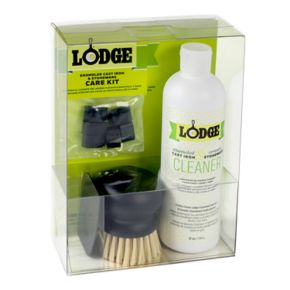 Lodge Enameled Cast-Iron and Stoneware Care Kit