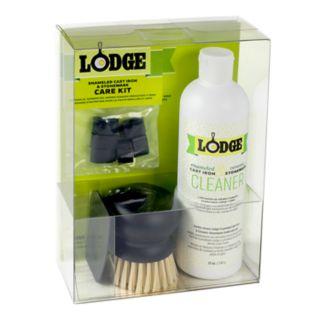 Lodge Enameled Cast-Iron and Stoneware Care Kit