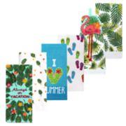 Celebrate Summer Together Summer Kitchen Towel 6-pack