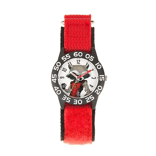 Marvel Guardians of the Galaxy Vol. 2 Rocket Kids' Time Teacher Watch