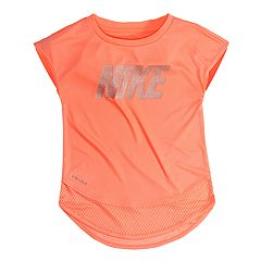 Baby Girl Nike Graphic Mesh-Hem Tunic