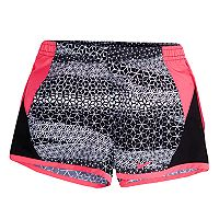 Toddler Girl Nike Geometric 10K Dri-FIT Shorts