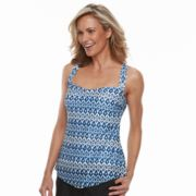 Women's Croft & Barrow® Crochet Tankini Top