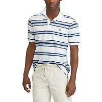 Men's Chaps Classic-Fit Striped Pique Polo