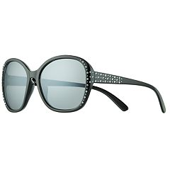 Girls 5-12 Elli By Capelli Plastic Round Rhinestone Sunglasses