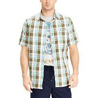 Men's Chaps Classic-Fit Performance Woven Button-Down Shirt