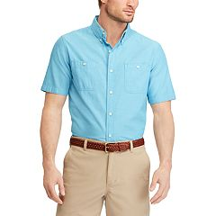 Men's Chaps Classic-Fit Chambray Button-Down Shirt