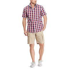Men's Chaps Classic-Fit Patterned Button-Down Shirt