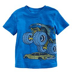 Toddler Boy Jumping Beans® Slubbed Graphic Tee