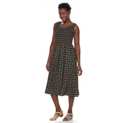Women's Croft & Barrow® Smocked Tank Dress