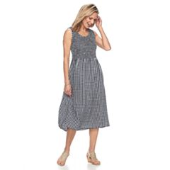 Women's Croft & Barrow® Print Tank Dress