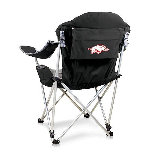 Picnic Time Arkansas Razorbacks Reclining Camp Chair