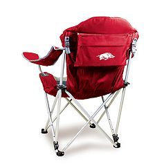 Picnic Time Arkansas Razorbacks Reclining Camp Chair