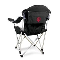 Picnic Time Indiana Hoosiers Reclining Camp Chair