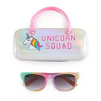 Girls 5-12 Elli By Capelli Plastic Rainbow Sunglasses With Case