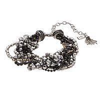 Simply Vera Vera Wang Bead & Knot Multistrand Nickel Free Bracelet