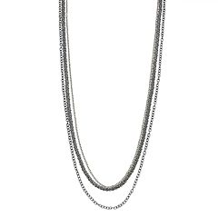 Simply Vera Vera Wang Multi Strand Chain Necklace