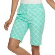 Women's Caribbean Joe Print Skimmer Shorts