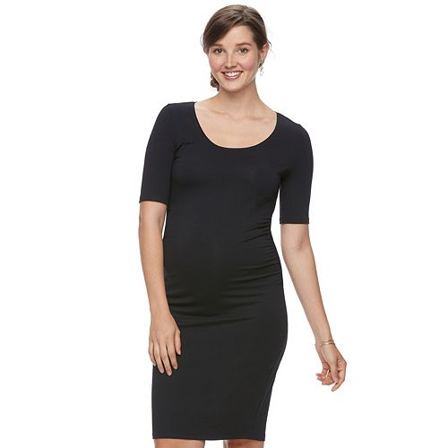 Maternity a:glow Ruched Sheath Dress