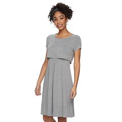 Maternity a:glow Popover A-Line Nursing Dress