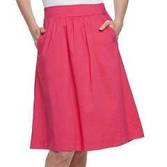 Women's Apt. 9® Pull-On Poplin Skirt