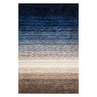 nuLOOM Classic Ombre Striped Shag Rug